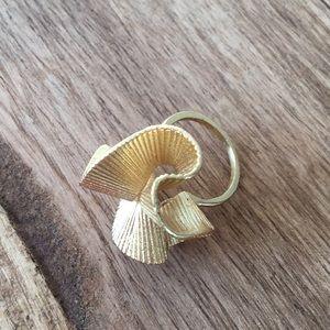 Anthropologie Ribbon Ring